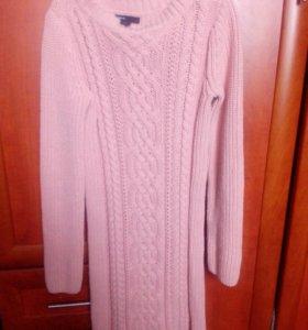 Платье зимнее на 12 лет.