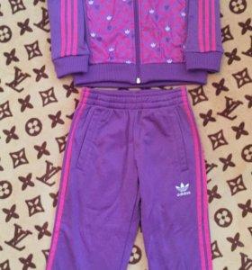Спортивный костюм на девочку Adidas(оригинал)