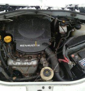 Двигатель logan 1.6,K7MF710
