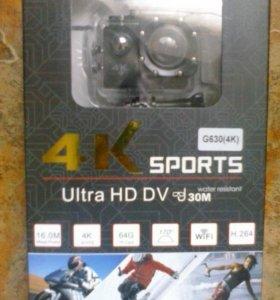 Экшн камера 4к (g630) Wi-Fi