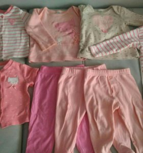 Комбинезон, кофты, футболки и ползунки Крокид