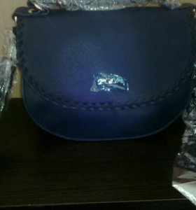 Синяя новая сумочка Пола