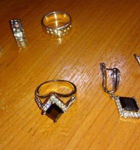 Серебро комплекты