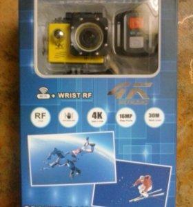 Экшен камера 4к 2 Wi-Fi
