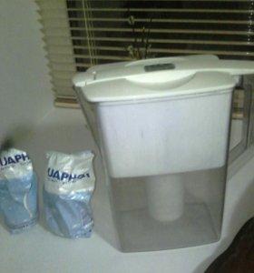 Фильтр для очистки воды  (кассеты аквафор в подаро