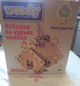 Деревянная игрушка- конструктор