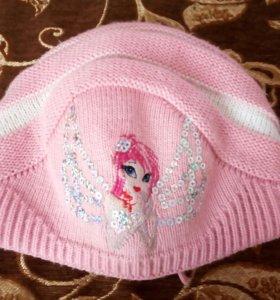 Зимняя детская шапка