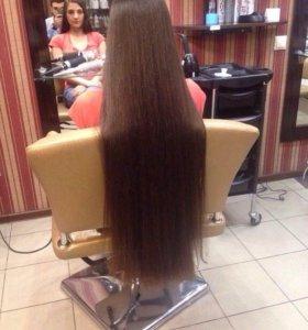 Женская стрижка ( Длинные волосы)