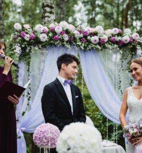 Ведущая, свадебный регистратор