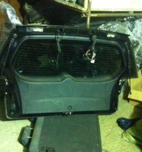 Крышка багажника митсубиси оутлендер 2 хл