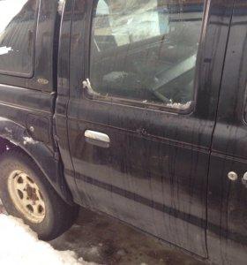 Дверь задняя правая Мазда b2500 , ford ranger