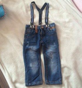 Детские джинсы 2-3г