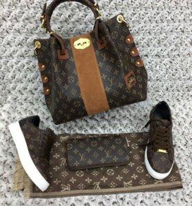 Комплекты сумка,кошелек,обувь,шарфик