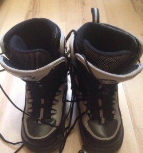 Сноуборд ботинки унисекс