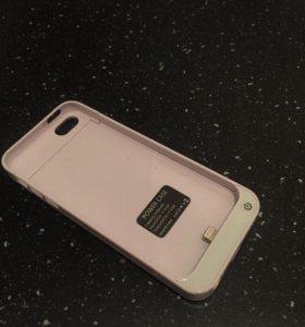 Чехол зарядное устройство на iPhone 5-5s/c