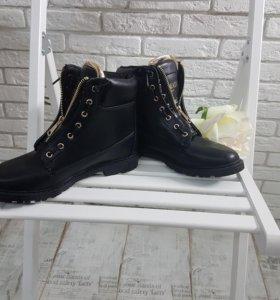 Высокие ботинки Balmain