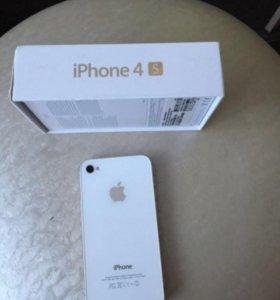 Продам iPhone 4S 16Gb White