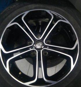Обмен комплект колёса 16 обмен на 18 резину 225 на