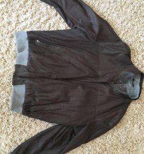 Куртка весенняя кожа