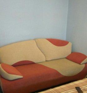 Мягкая мебель, диван и кресло