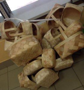 Продаются плетеные корзины,стаканы можно под грибы