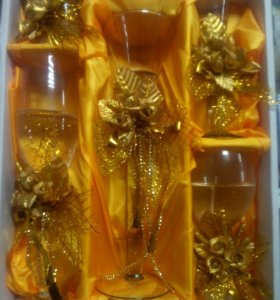 Набор гелиевых свечей в подарочной упаковке