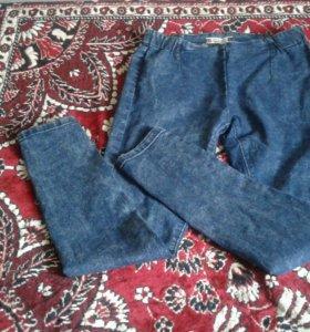 Лосины джинсовые