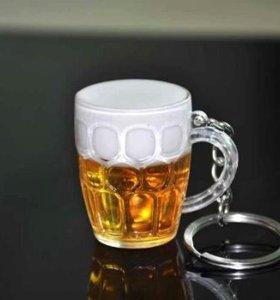 Брелок кружка пива