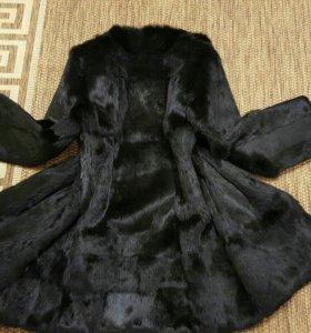 Пальто из кролика