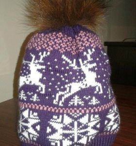 Зимняя шапочка (новая)