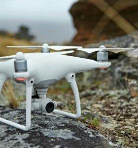 Квадрокоптеры DJI Phantom 3 ,4 ,4 pro.
