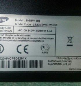 Монитор Samsung диагональ 20