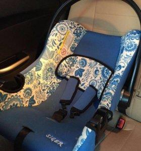 Детское кресло -люлька хохлома