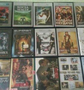 Диски с фильмами и играми для PC