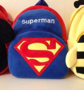 Рюкзачок супермен новый