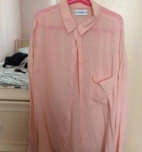 Персиковая рубашка P&B