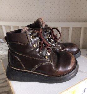 Демисезонные ботинки на мальчика размер 28-29
