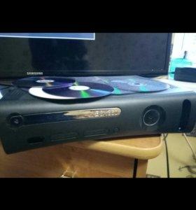 Продам xbox360 120hdd