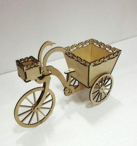 Велосипед-корзинка