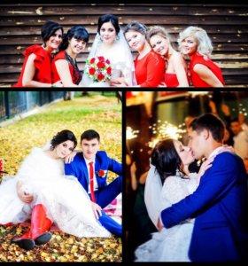 Съёмка свадеб фото и видео