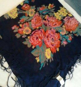 платок,тонкий ,весна