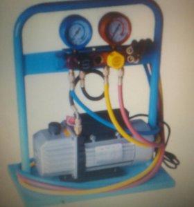 Продам оборудование для заправки автокондиционеров