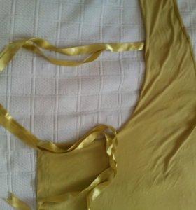 Блузка песочного цвета