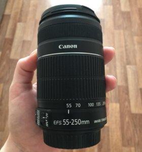 Объектив Canon KIT EF-S 55-250