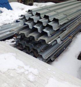 Профлист профнастил Н-60 заливка бетон перекрытие