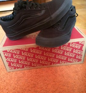 Кеды Vans Old Skool (чёрные)