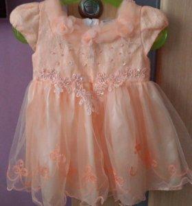 Красивое платье на 1 годик