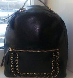Новый рюкзак нат.кожа