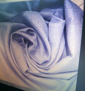 Портьерная ткань лен