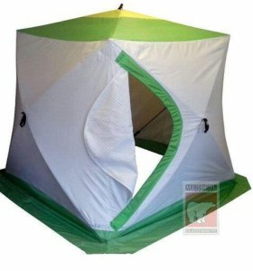 Палатка для зимней рыбалки Медведь Куб2 Куб 3 Зонт